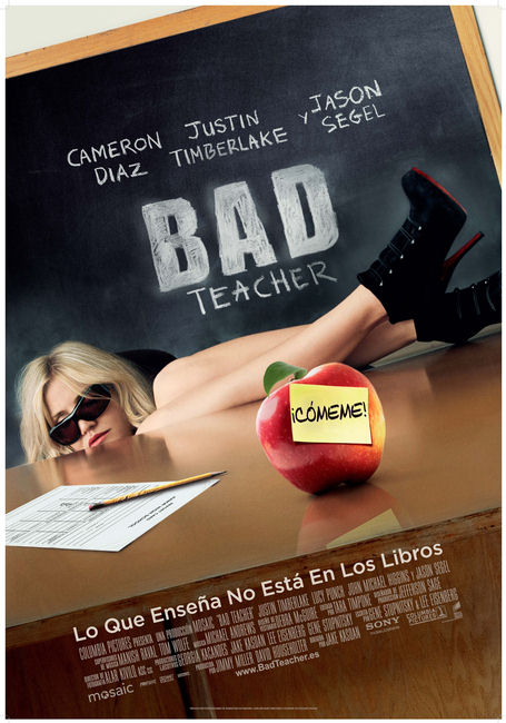 Cartel de la película Bad Teacher